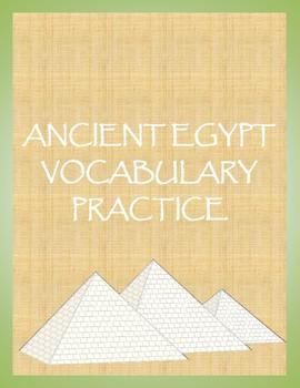 Ancient Egypt Vocabulary Practice