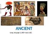 Ancient Egypt Vocabulary for Word Wall