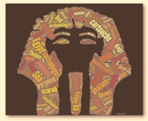 Ancient Egypt Vocabulary image for Classroom Decoration Po