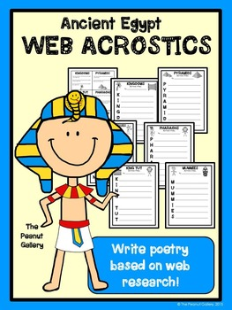 Ancient Egypt Web Acrostic Poetry