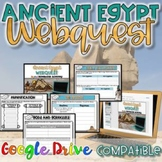 Ancient Egypt WebQuest {Digital AND Paper} Distance Learning