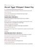 Ancient Egypt Webquest