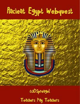 Ancient Egypt Webquest with Key