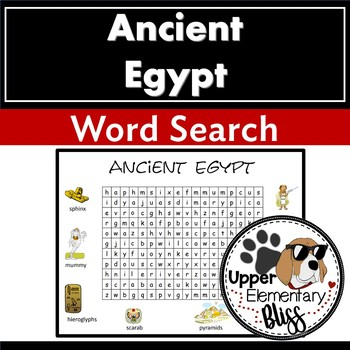 Ancient Egypt WordSearch