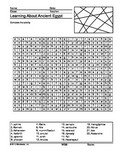 Ancient Egypt Word Search Printable