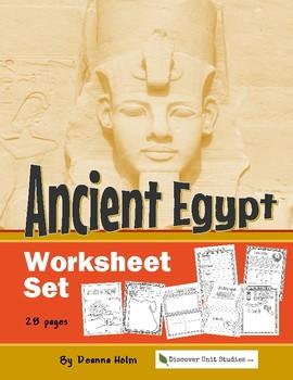 Ancient Egypt Worksheet Set