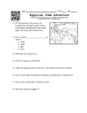 Ancient Egypt Worksheet for Online Game