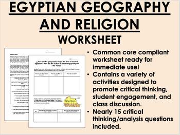 Ancient Egypt Bundle - Global/World History Common Core