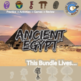 Ancient Egypt -- World History Curriculum Unit Bundle