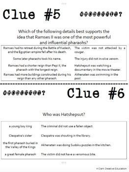 Ancient Egypt -- World History Curriculum Unit Bundle