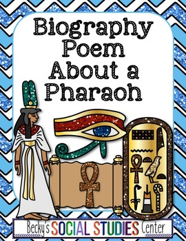 Ancient Egypt: Write a Biography Poem About a Pharaoh