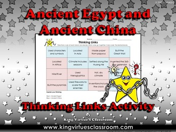 Ancient Egypt and Ancient China Thinking Links - King Virtue
