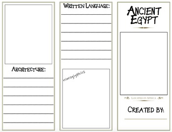 Ancient Egypt and China Activities Bundle