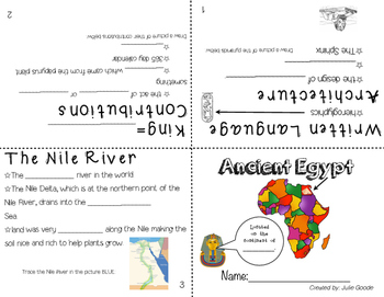 Ancient Egypt And China Booklet By The Techie Teacher TpT