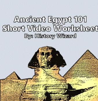 Ancient Egypt and Egyptians Webquest