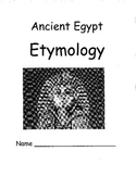 Ancient Egypt and Etymology