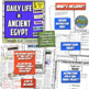 Ancient Egypt and Mesopotamia Bundle! 10 Fun Resources for Egypt & Mesopotamia!