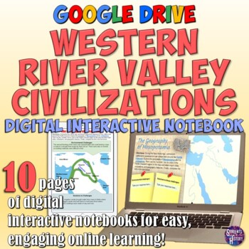 Ancient Egypt and Mesopotamia Google Drive Interactive Notebook