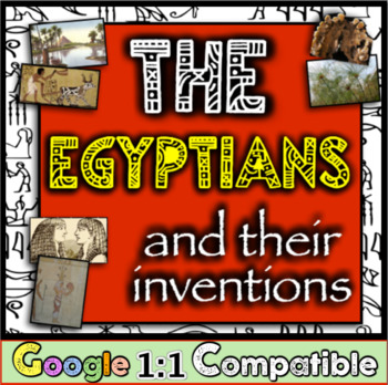 Ancient Egypt and Their Inventions!  Students investigate 6 Egyptian inventions!