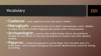 Ancient Egypt and the Pyramids lvl 7 (Distance Learning)