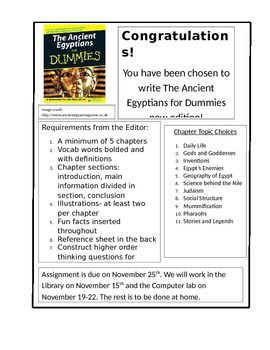 Ancient Egypt for Dummies Book