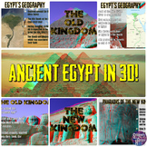 Ancient Egypt in 3D PowerPoint Lesson