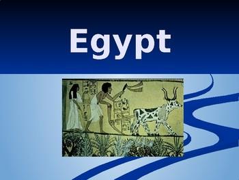 Ancient Egypt lecture slides