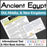 Ancient Egypt's Old, Middle, & New Kingdoms Reading Handou