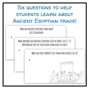 Ancient Egypt's Trading Systems