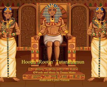 Ancient Egypt song about Tutankhamun