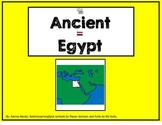 Ancient Egypt story and worksheets