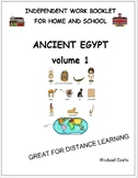 Ancient Egypt, volume 1, distance learning, literacy (#1297)