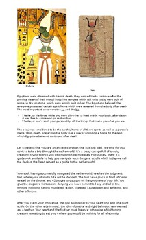 Ancient Egypt - worksheets, activities, crq, enduring issue