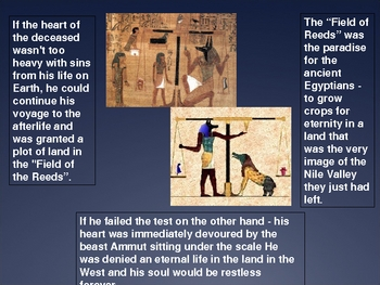 Ancient Egyptian Afterlife Powerpoint