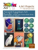 Ancient Egyptian Art Lesson Bundle for Grades 5-7