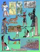 Egyptian Clip Art - Realistic Ancient History - 300 dpi PNG
