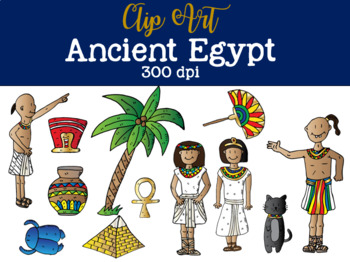 Ancient Egyptian Clip Art