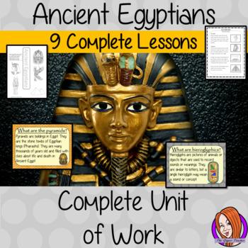 Ancient Egyptian Complete Unit Lesson Bundle