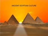 Ancient Egyptian Culture PowerPoint