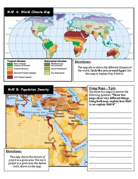 Ancient Egyptian Geography - Mapping Exercise