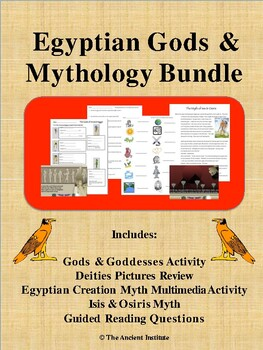 Ancient Egypt Gods & Myths Bundle