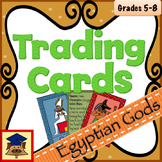 Ancient Egyptian Gods Trading Cards