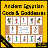 Ancient Egyptian Gods and Goddesses Printout