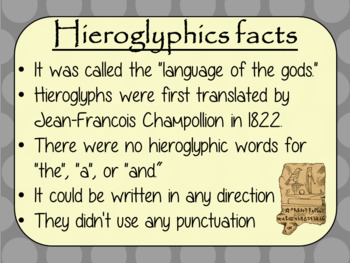 Ancient Egyptian Hieroglyphics Complete History Lesson