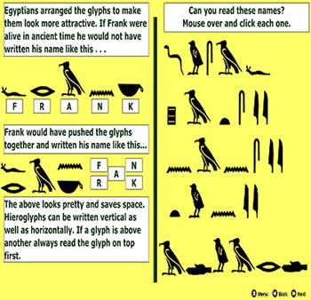 Ancient Egyptian Hieroglyphics - PDF - Updated - Bill Burton