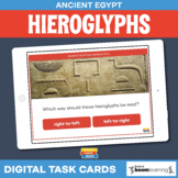 Ancient Egyptian Hieroglyphs • Boom Cards • Distance Learning