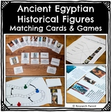 Ancient Egyptian Historical Figure Matching Cards and Games