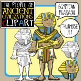 Ancient Egyptian Pharaoh Clip Art