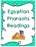 Ancient Egyptian Pharaoh Readings / Questions