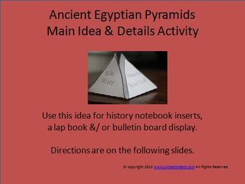 Ancient Egyptian Pyramids FREEBIE